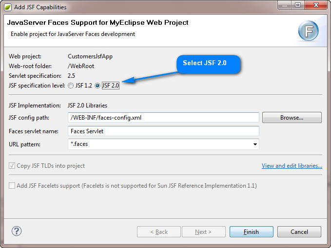 MyEclipse for Spring 9 0: JSF/Primefaces and Spring Scaffolding